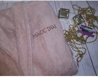 """Халат махровый премиум с вышивкой на груди """"Magic Thai"""""""