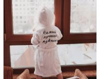 Халат детский махровый с вышивкой