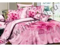 """Постельное белье """"Аромат цветов"""" мако сатин 3D"""