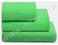 "Полотенце махровое ""Plait"", зеленое"