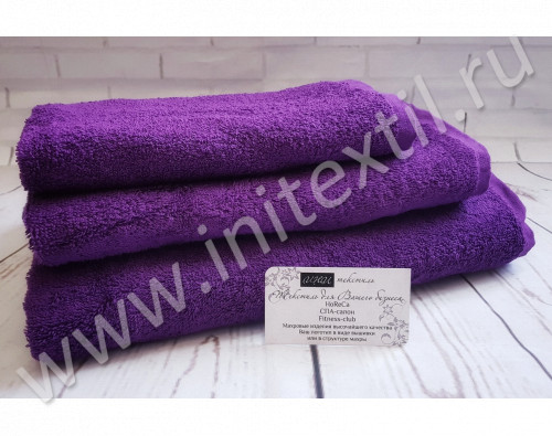 """Полотенце махровое """"Premium"""" фиолетовое"""