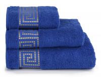 """Полотенце махровое """"Mito greco"""" синий"""