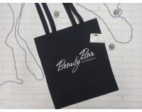 """Сумка-шоппер с логотипом  """"Beauty Bar"""""""