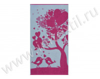 """Полотенце махровое """"Love Tree"""""""